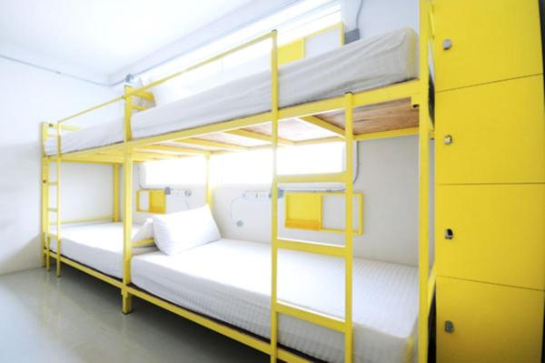 Bunk Bed in 12 Bed Mixed Dormitory Room