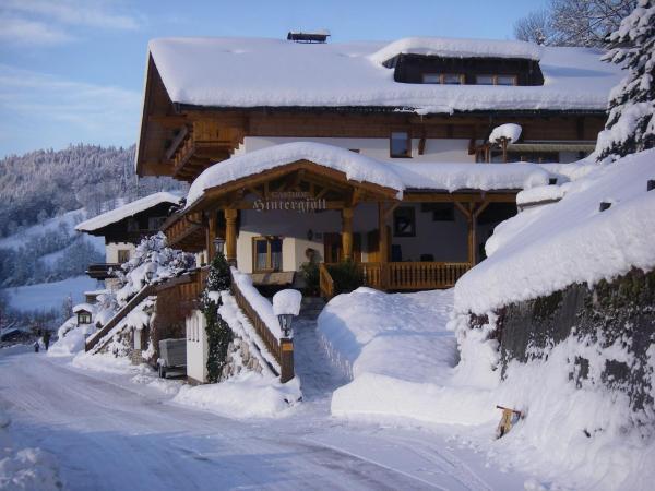 Hotellikuvia: Berggasthof Hintergföll, Unken