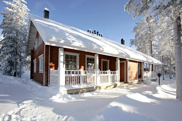 Hotellikuvia: Santasport Cottages, Rovaniemi