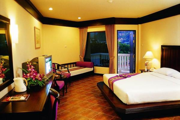 Double or Twin Room with Pool View