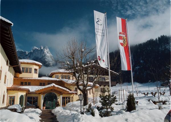 Hotellikuvia: Hotel Vitaloase zu den drei Brüdern, Unken