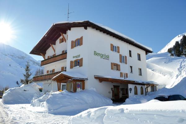 Hotellikuvia: Bergrösli, Warth am Arlberg
