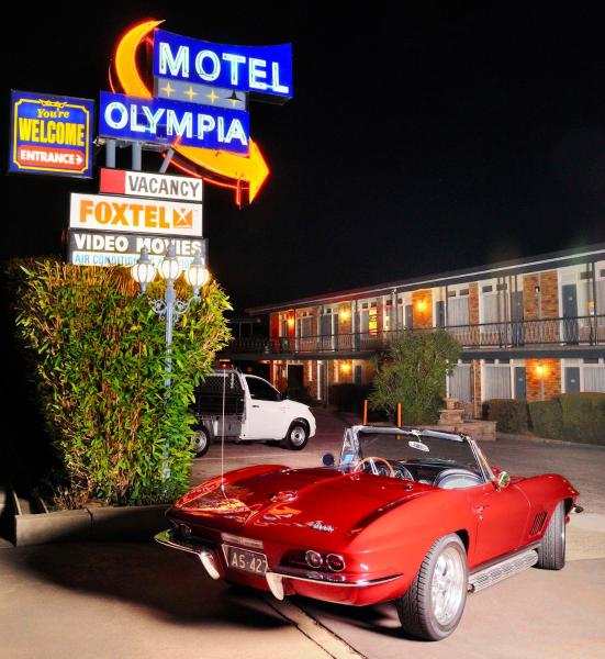 Hotelbilleder: Olympia Motel, Queanbeyan