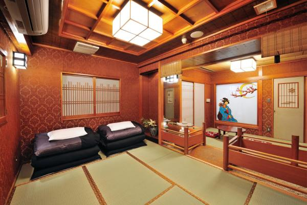 Japanese-Style Deluxe Triple Room