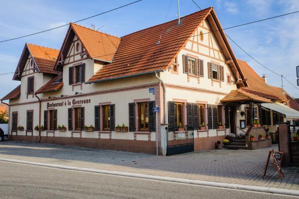 Hotel Pictures: Hôtel Restaurant La Couronne, Roppenheim