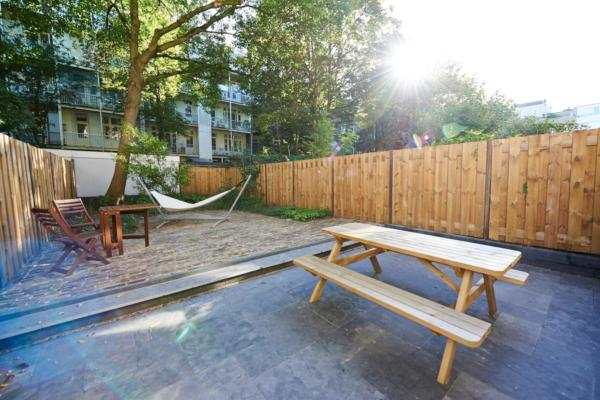Two-Bedroom Apartment with Garden