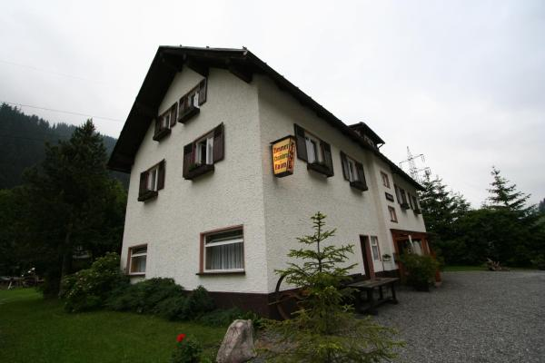 酒店图片: Pension Haller, Klösterle am Arlberg