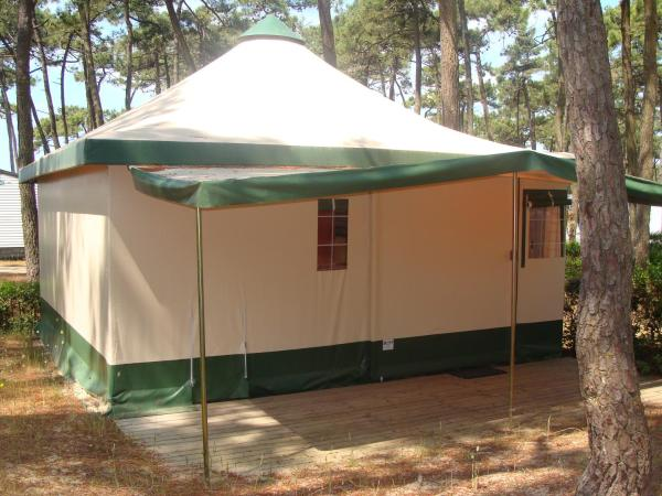 Two-Bedroom Bungalow Canvas