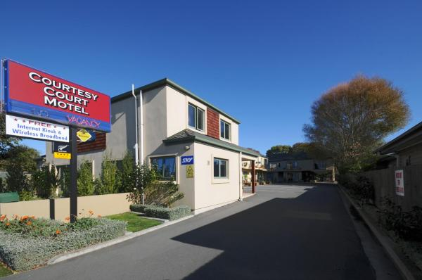 Hotellikuvia: Courtesy Court Motel, Christchurch