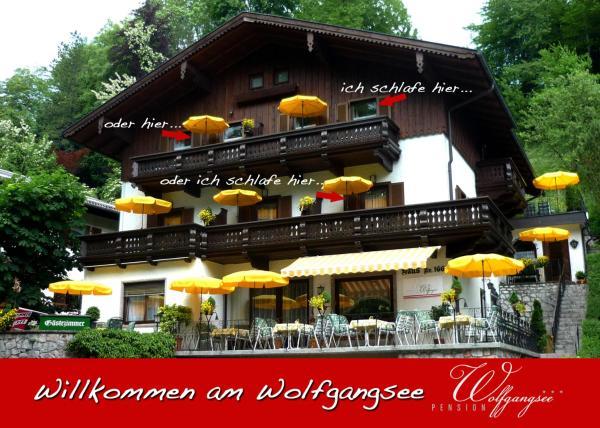 ホテル写真: Pension Wolfgangsee, ザンクト・ヴォルフガング