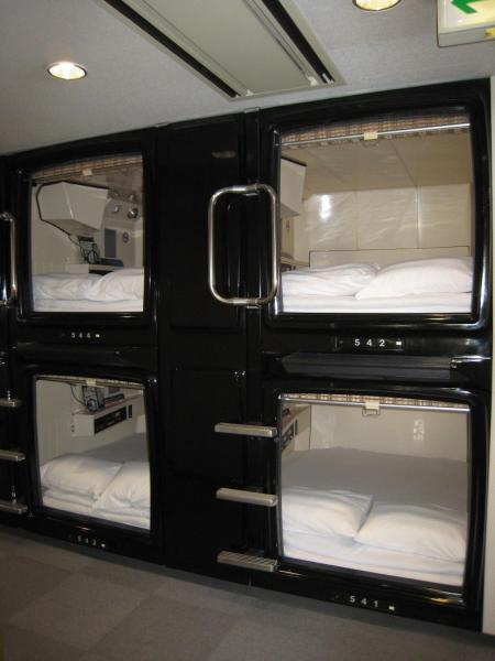 Small Double Capsule Room