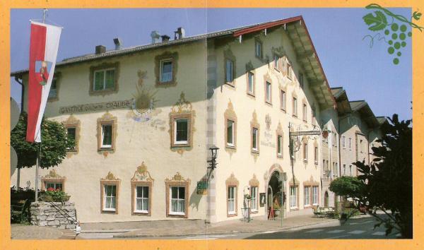 酒店图片: Gasthof Goldene Traube, 哥林素萨尔察赫