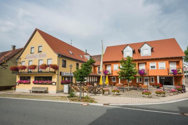Hotelbilleder: Gasthof Rose, Flachslanden