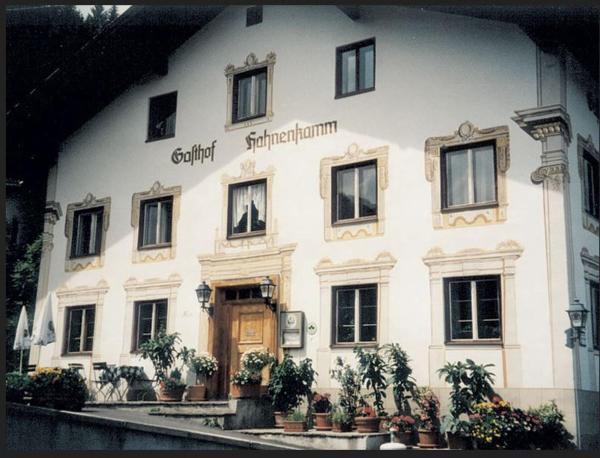 Fotografie hotelů: Gasthaus Hahnenkamm, Wängle