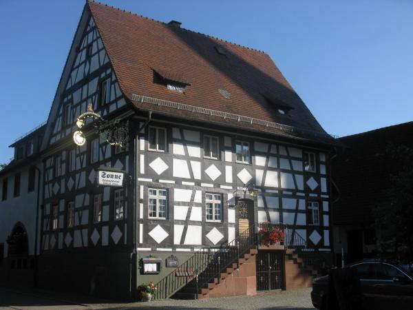 Hotel Pictures: Gasthaus Sonne, Vörstetten