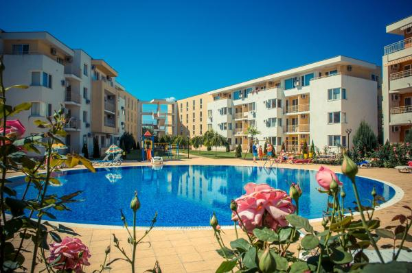 酒店图片: Nessebar Fort Club Apartments, 阳光海滩
