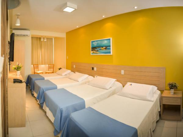 Standard Quadruple Room with Sea View