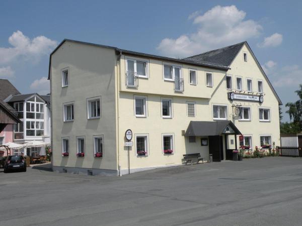 Hotelbilleder: Landgasthof Grüne Linde, Hof