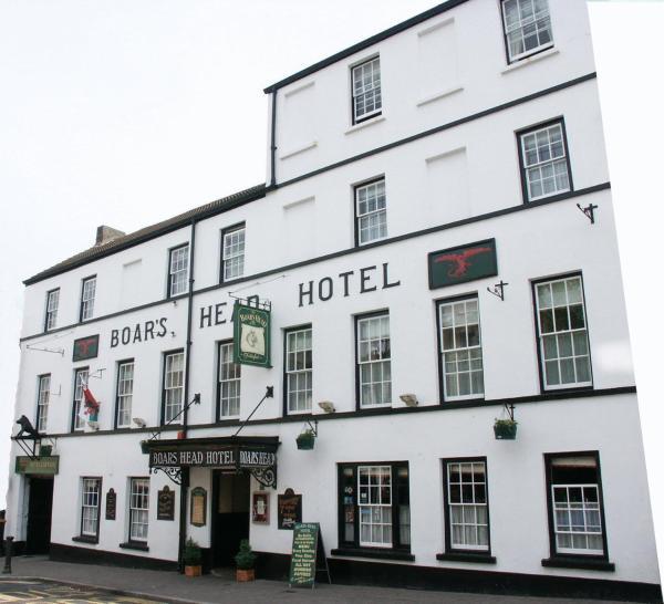 Hotel Pictures: Boars Head Hotel, Carmarthen