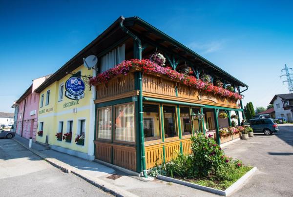 ホテル写真: Frühstückspension Kirchenwirt - Familie Lercher, Lieboch