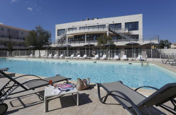 ホテル写真: Vacancéole - Résidence Cap Med, ル・グロー・デュ・ロワ