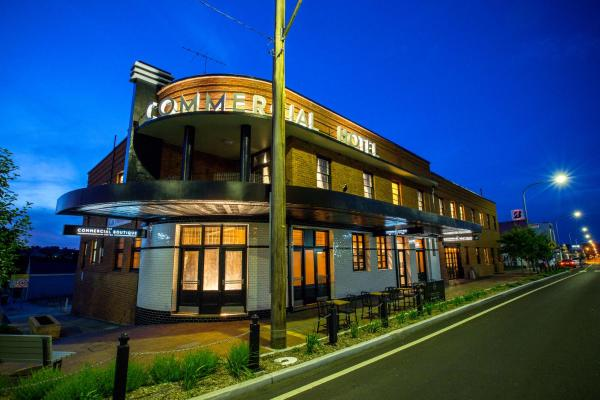 Fotografie hotelů: The Commercial Boutique Hotel, Tenterfield
