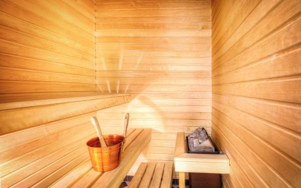Two Connecting Twin Rooms with Sauna