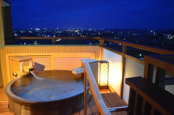 Deluxe Suite with Open-Air Bath - Tensyo Building