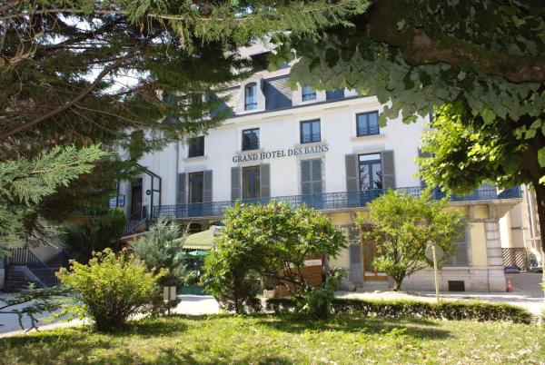 Hotel Pictures: Logis Grand Hôtel Des Bains, Salins-les-Bains