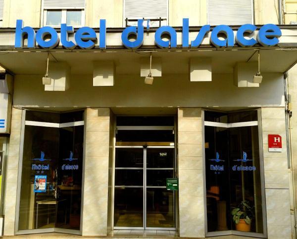 Hotel Pictures: Hôtel d'Alsace, Villeurbanne