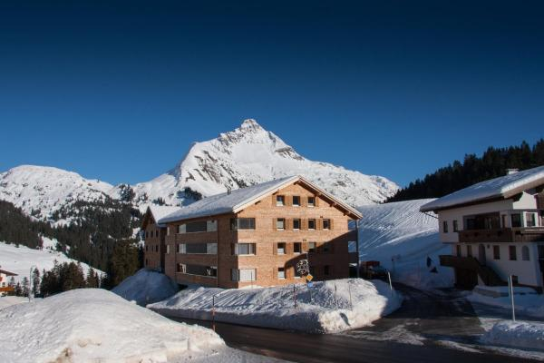 Hotellikuvia: Alpenappartement Bergkönig, Warth am Arlberg