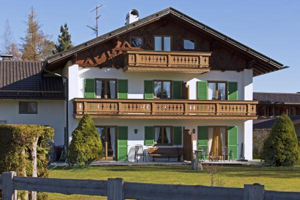 Hotelbilleder: Ferienwohnungen Alpenblick Tilly, Krün