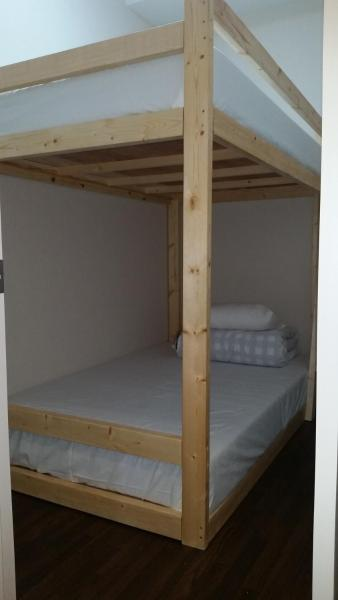 Private Room with 2 Double Beds