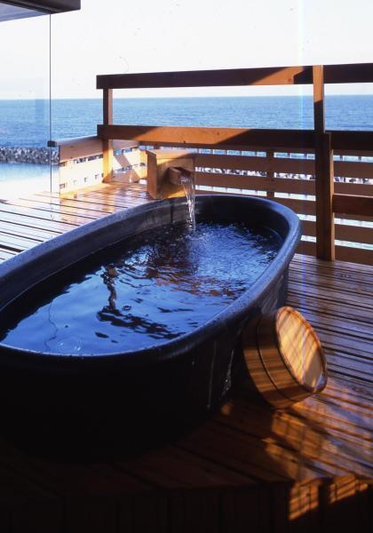 Standard Japanese-Style Room with Open-Air Jet Bath and Sea View