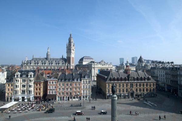 Fotografie hotelů: Grand Hotel Bellevue - Grand Place, Lille