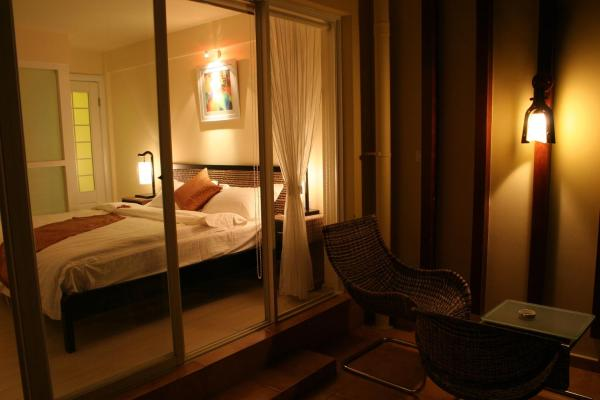 Deluxe Suite with hot spring