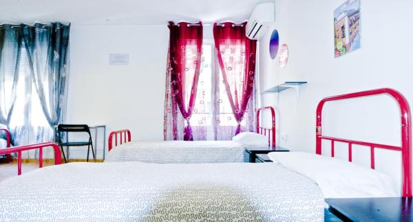 Single Bed in 4-Bed Dormitory Room with Bathroom