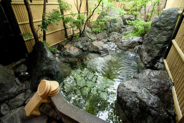 Japanese-Style Twin Room with Hot Spring Bath