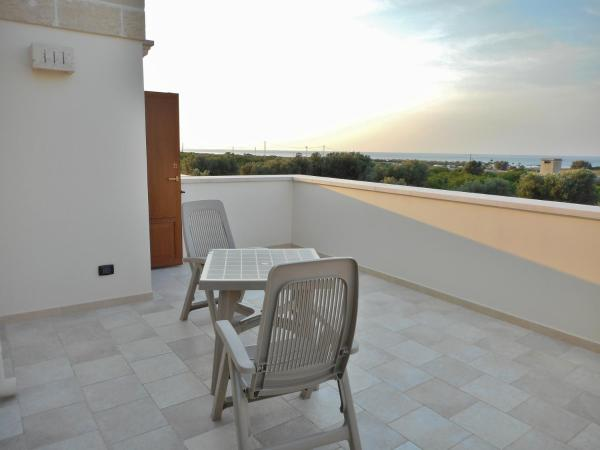 Superior Triple Room with Terrace and Sea View