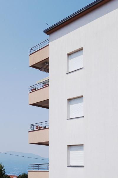 Two-Apartment with Terrace and Sea View
