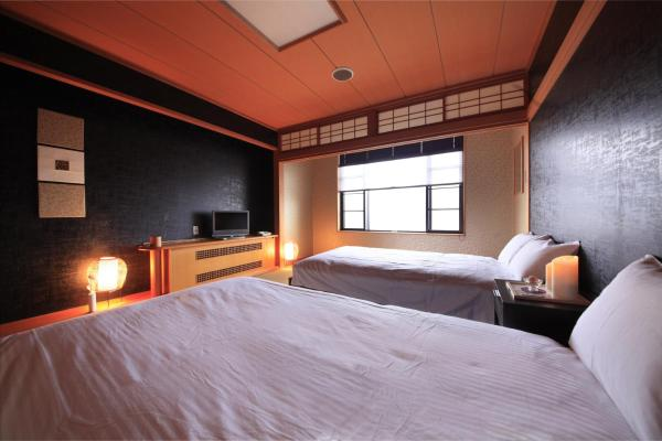 Standard Room with Tatami area and Mountain View