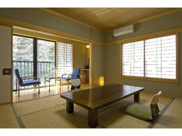 Japanese-Style Room with Shared Bathroom and Private Toilet