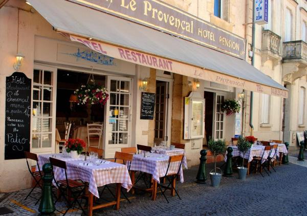 ホテル写真: Hôtel Restaurant Le Provençal, ル・グロー・デュ・ロワ