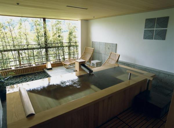 Japanese-Style Suite with Cypress Bath