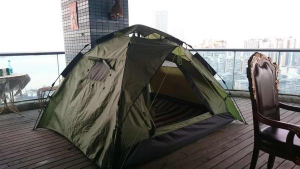 Chinese Mainland Citizens-Tent