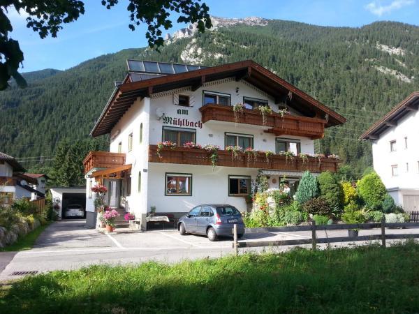 ホテル写真: Pension am Mühlbach, Bichlbach