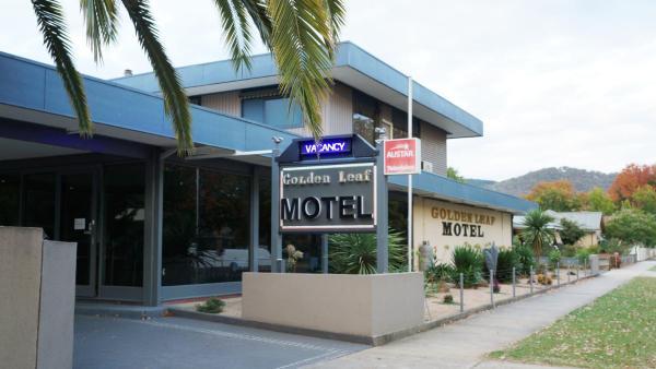 酒店图片: Golden Leaf Motel, Myrtleford