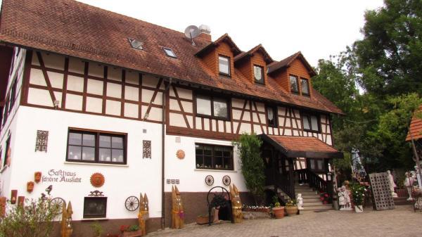 """Hotel Pictures: Landgasthof & Pension """"Zur Schönen Aussicht"""", Mörlenbach"""
