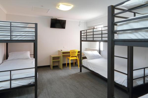 Economy Triple Bunk Room with Shared Bathroom