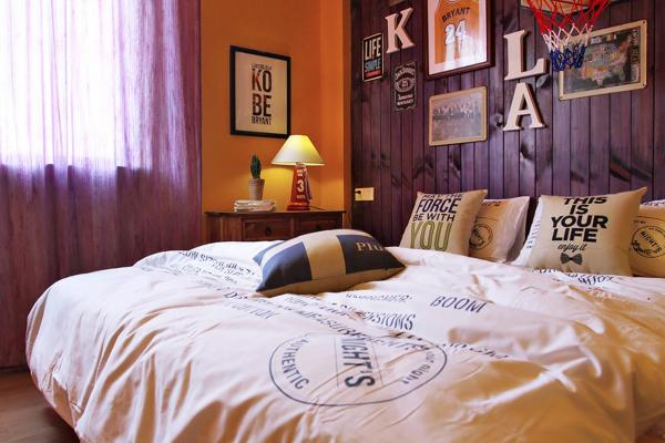 Double Room with yellow color decoration 203/303/403